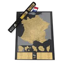 Maps France by Scratch Map France