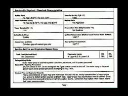 Ghs Safety Data Sheet Template How To Read A Material Safety Data Sheet