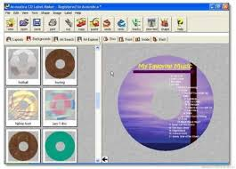 cd cover designer mac cd label printable cd labels for avery format 28669