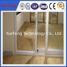 aluminium glass doors aluminium door frame price 6063 high standard aluminium profile