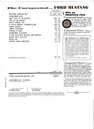 here u0027s the tech you 100 mustang 64 1 2 1964 1 2 ford mustang convertible