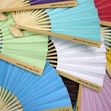 wedding fan favors personalized fans custom wedding fans wedding favors