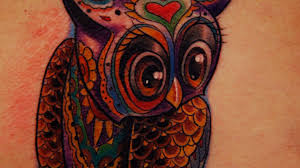 tattoo nightmares peacock cover up new school owl tattoos tattoo nightmares 204 wiseasanowl jpeg