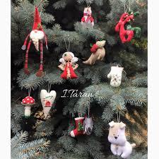 christmas toys textile christmas toys christmas tree toys