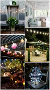 Patio Lights Ideas by 238 Best Outdoor Lighting Images On Pinterest Outdoor Lighting