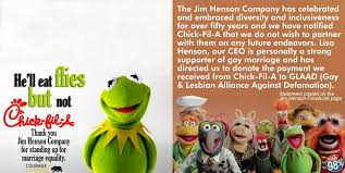 Chick Fil A Meme - chick fil a vs the muppets or how not to use facebook in 2012