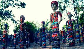 Nek Chand Rock Garden Chandigarh S Rock Garden Creator Nek Chand Dead India