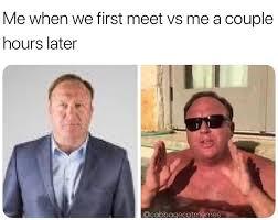 Alex Jones Meme - same memebase funny memes