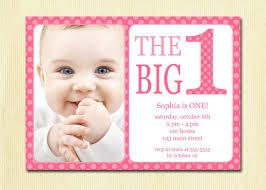 Invitation Card For Baby First Birthday Baby Invitation Diy Photo Printable