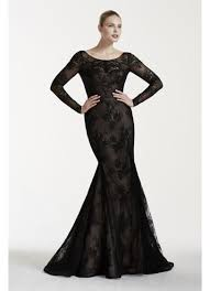 black lace wedding dresses truly zac posen lace wedding dress with sleeves david s bridal