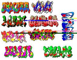 photo collection graffiti tags alphabet 2010