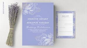 purple and gold wedding invitations modern wedding wedding invitations by jinaiji