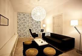 idee deco salon canape noir photo du salon avec le canapé noir