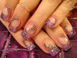 purple nail design for wedding fashion fuz
