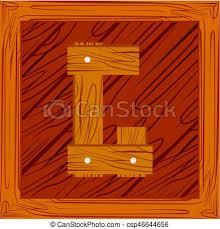 vector letter g wooden block letter g wooden alphabet block