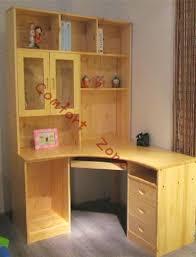 Corner Shelf Desk Bookcase Pine Corner Bookcase Solid Pine Corner Bookcase Pine