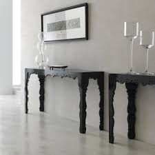 black lacquer console table louvre carved wood black lacquer console table