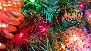 maui now christmas tree electronics recycling offered on maui