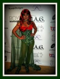 poison ivy hand made and it turned out pretty awesome