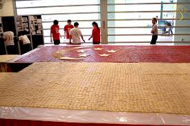 Guinness Flag Bake A Singapore Guinness World Record For Largest Flag Mosaic