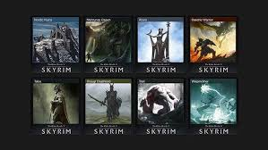 skyrim gets steam trading card set attack of the fanboy