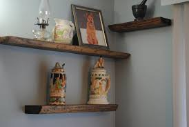 Wood Bathroom Shelves by Small Wood Shelf For Wall