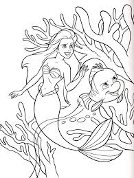 walt disney characters walt disney coloring pages princess ariel
