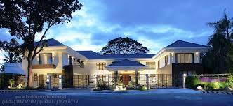 bungalow house designs berrima house modern singapore bungalow design consisting of image
