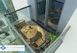 Condo Patio Furniture Toronto Download Small Condo Balcony Ideas Gurdjieffouspensky Com