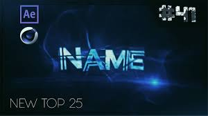 top 25 free intro templates 41 cinema 4d adobe after effects
