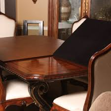 Table Pads For Dining Room Example Of A Dining Room Design In - Dining room table protective pads