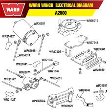 warn m12000 winch remote control wiring diagram warn m12000 parts