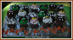 once a mom always a cook fun halloween cupcakes