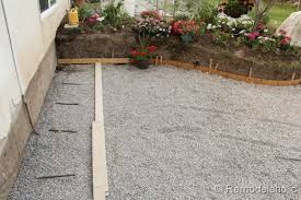 Gravel For Patio Base Remodelaholic Diy Concrete Patio Part One