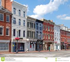 Small Town Small Town Main Street 9 Royalty Free Stock Images Image 17506029