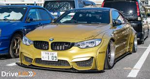 bmw m4 stanced tokyo auto salon 2017 part 3 car parks and rec drive life