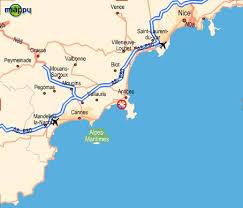 map of antibes hotel 3 estrellas antibes juan les pins villa