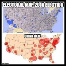 chicago map meme maps show high crime rates where democrats vote