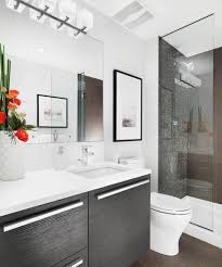 contemporary small bathroom design bathroom tight and inspirational curtain modern before remodel