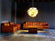 Cognac Leather Sofa by Hess Leather Sofas Leather Sofas Living Rooms And Mid Century Couch