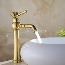 Copper Bathroom Faucet by Basin Mixer Copper Bathroom Faucet And Cold Water Gilded Golden