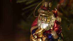 Santa Claus Christmas Tree Decorations by Santa Claus And Other Christmas Tree Decoration Stock Footage