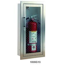 jl industries fire extinguisher cabinets cosmopolitan series stainless steel fire extinguisher cabinet