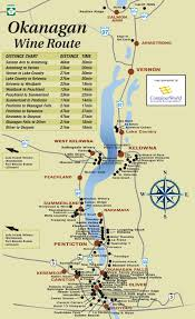 Virginia Wine Trail Map by Sommelier Emily Walker U0027s South Okanagan Wine Tour Itinerary To