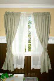 Burlap Ruffle Curtain Burlap Curtain The Hemingway With Seashell By Curtainsbyjackiedix