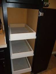 Kitchen Cabinet Sliding Shelves The Runnerduck Spice Rack Plan Is Step By Step Instructions On