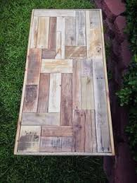 Reclaimed Wood Bistro Table An Example Of A Reclaimed Pallet Bistro Table From Etsy
