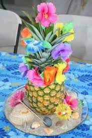 Luau Party Table Decorations Party Frosting Party Ideas For Kids Party Ideas And Parties