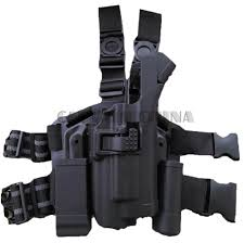 glock 22 light bearing holster military tactical rh drop leg holster light bearing holster set for