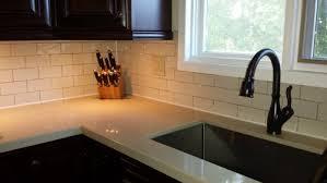 how to caulk a sink backsplash do you silicone edges at backsplash